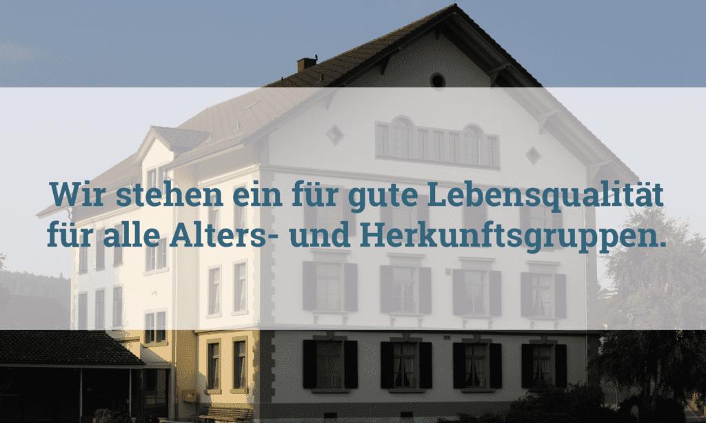 Die Gesellschaft ist starkem Wandel Gemeinde Melchnau