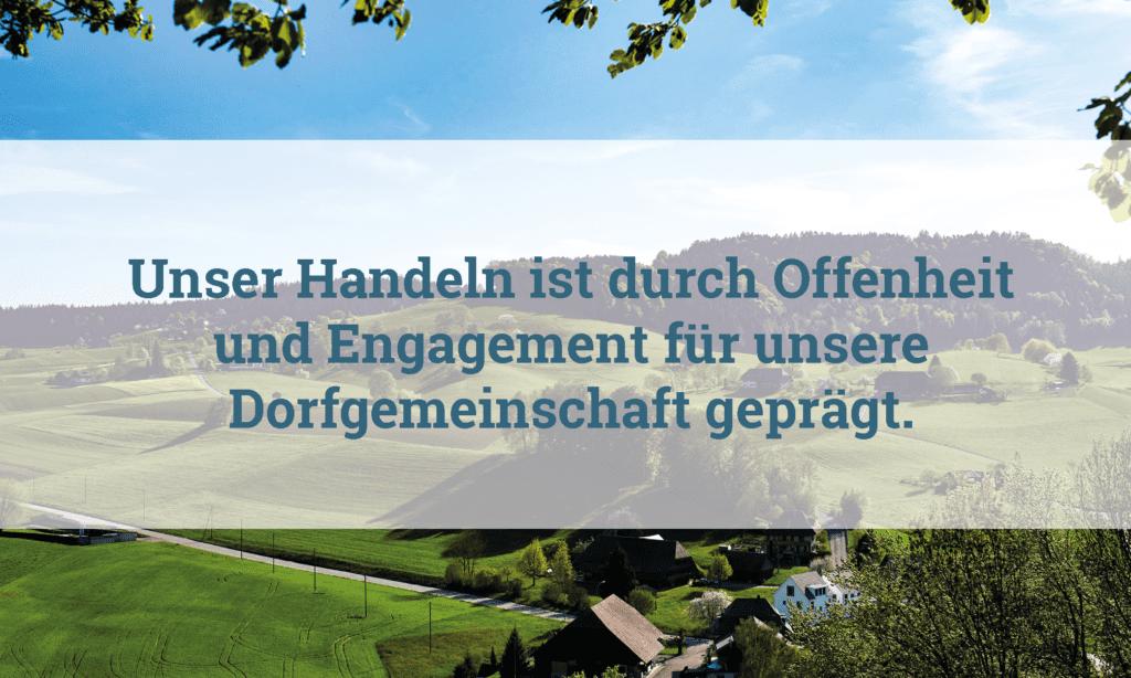 Herausforderungen gemeinsam angehen Gemeinde Melchnau