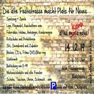 Die alte Festistrasse macht Platz für Neues! Gemeinde Melchnau